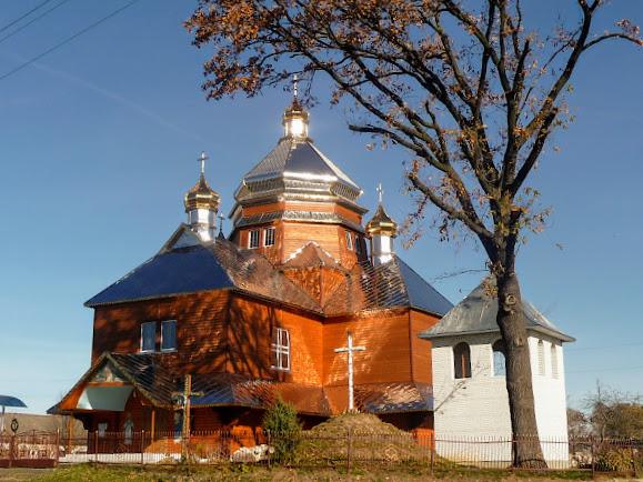 Долішнє. Церква Різдва Пресвятої Богородиці