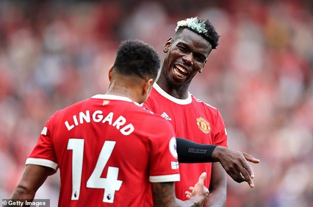 [Video] Moment Pogba, Burna Boy Celebrated on Stage After United's 4-1 Win Over Newcastle
