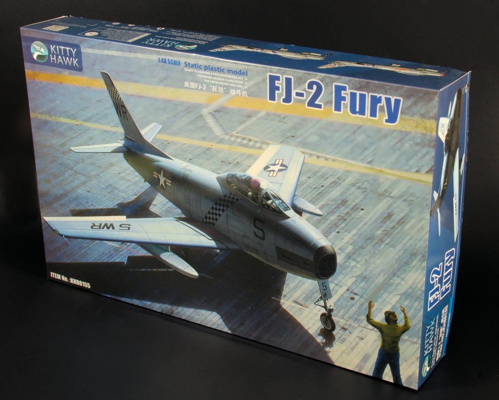 Kitty Hawk KH80156 1//48 Scale FJ-3 Fury Plastic Model Kit