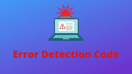 What is Error Detecting Codes - parity bit