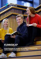 Framsida, årbok 2020 HVL Studentarbeid Inst. for økonomi og administrasjon