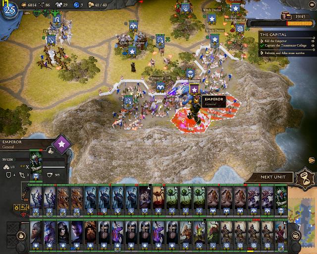 Fighting the Emperor   Fantasy General 2