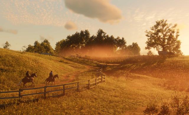 Red Dead Redemption Farm View