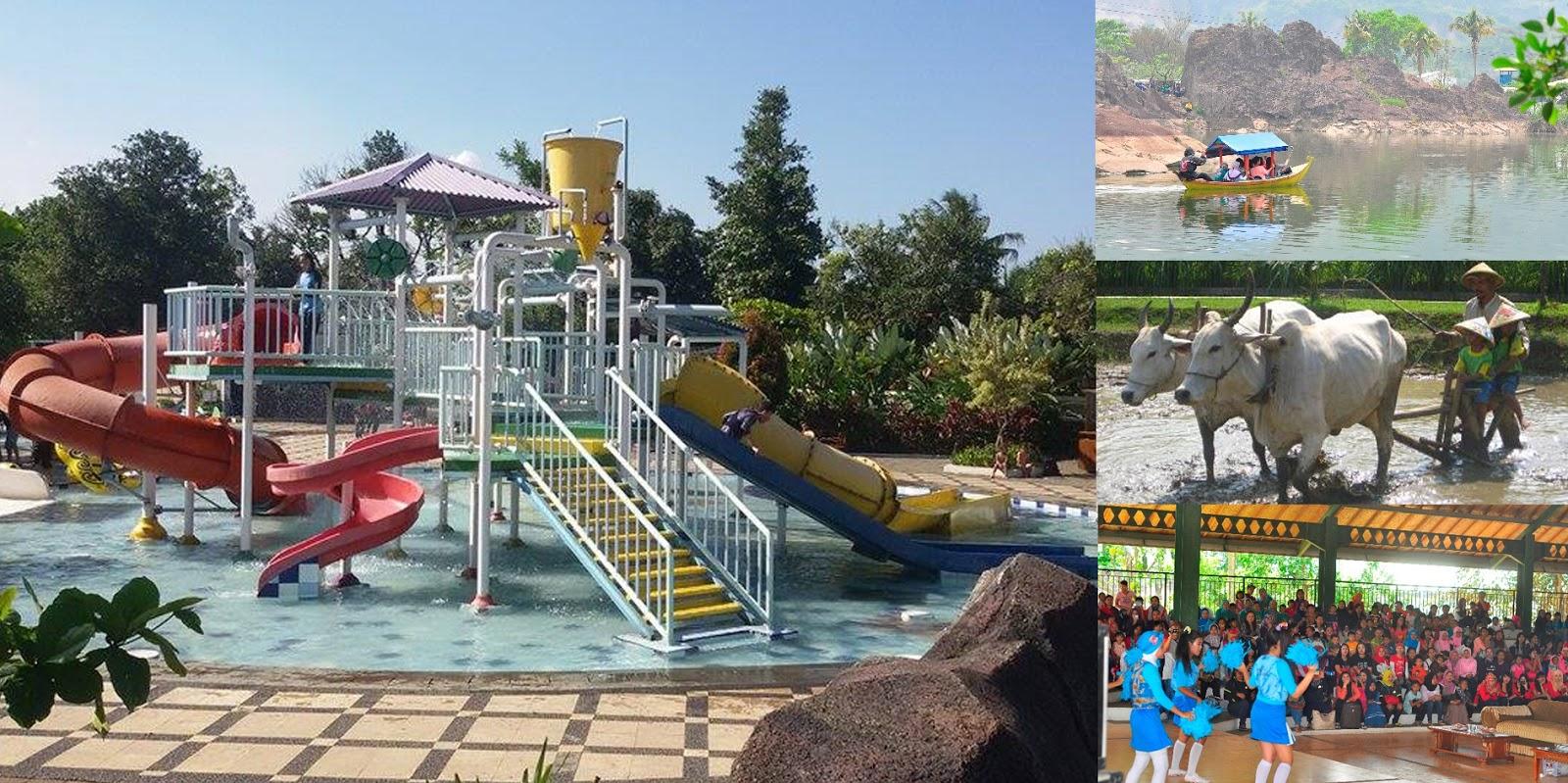 Wahana Berenang dan Petualangan Geowisata di Tektona Waterpark