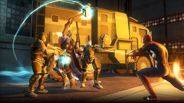 Marvel Ultimate Aliance 2 Gameplay Screenshot 5