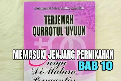 TERJEMAH KITAB QURROTUL UYUN BAB 10
