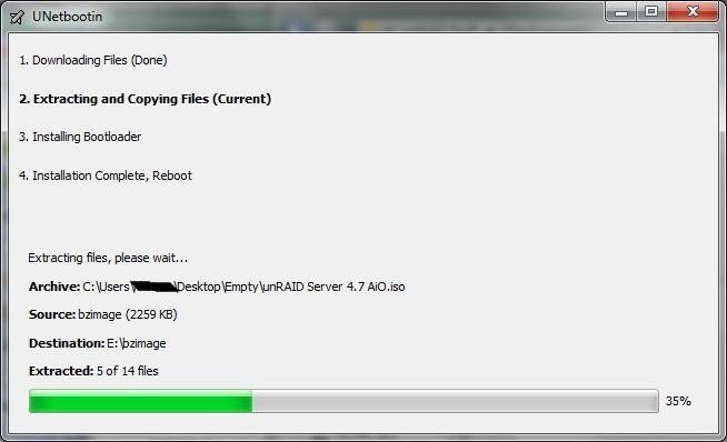 GreenLeaf-Technology How To's: unRAID USB boot drive creation using