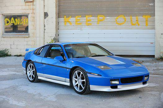 Doesnt Mean You Cant Buy A Race Winning Fiero Today Find This 1987 Pontiac GT V8 Conversion Offered For 10000 In Fargo ND Via Craigslist