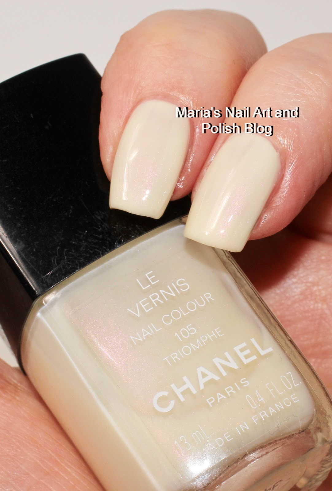 Marias Nail Art And Polish Blog Chanel Triomphe 105 Swatches