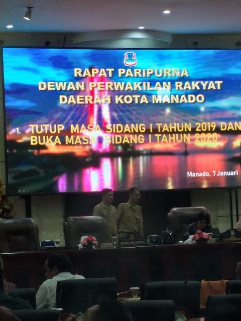 Dekot Gelar Rapat Paripurna Dalam Rangka Tutup Sidang 2019 dan Buka Sidang 2020
