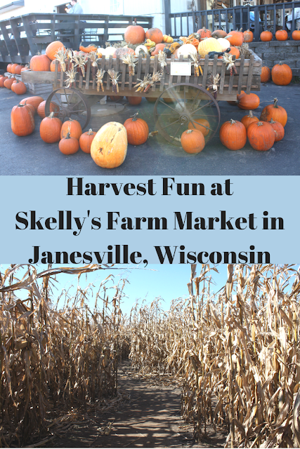 Harvest Fun at Skelly's Farm Market in Janesville, Wisconsin