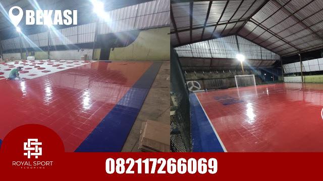 Jual Lantai Interlock Futsal di Bekasi