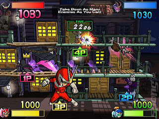Download Viewtiful Joe - Red Hot Rumble Europe (M5)  Game PSP For Android - www.pollogames.com