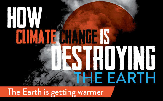 How Climate Change Is Destroying The Earth