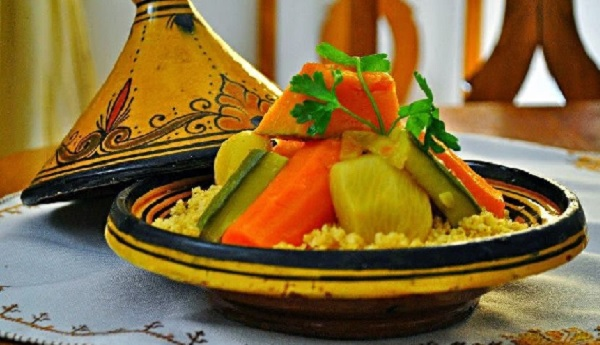 Moroccan Couscous Food