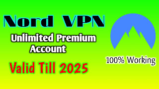 Nord VPN Premium Account Free Valid Till 2023   Nord VPN Unlimited Free Accounts   