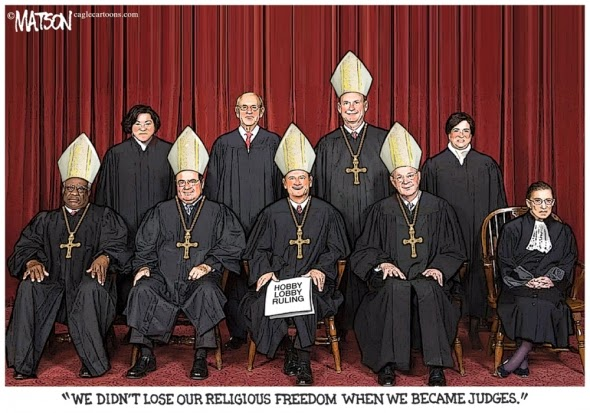Clowns in Hats - The New Catholic Majority Supreme Court and Their  pre-Reformation POVs - Hobby Lobby 87e7dda0b0a
