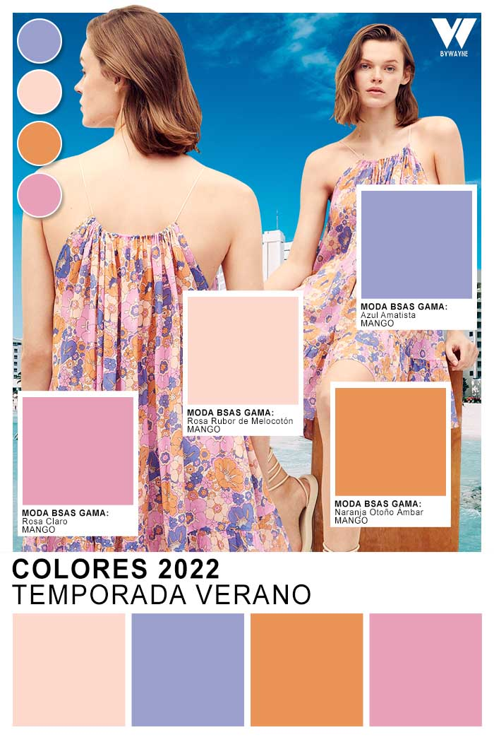 moda colores verano 2022 tendencia de moda 2022 colores