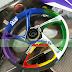 Mẫu sơn tem đấu mâm xe máy lục sắc cực đẹp (Mâm_SG33)