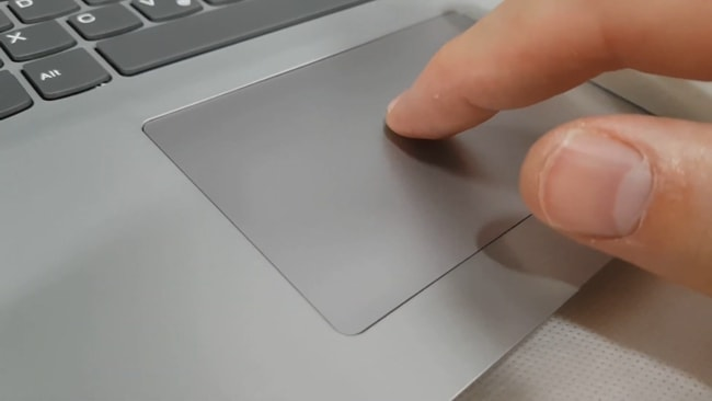 The smooth and responsive touchpad but it's not a precision unit.