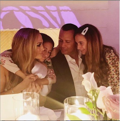 [Photos] Jennifer Lopez And Alex Rodriguez Throw Engagement Party With Family And Friends