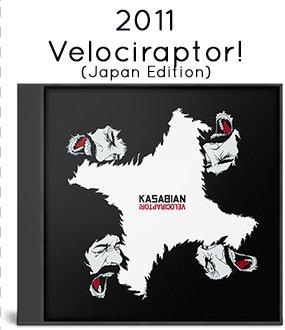 2011 - Velociraptor! (Japan Edition)