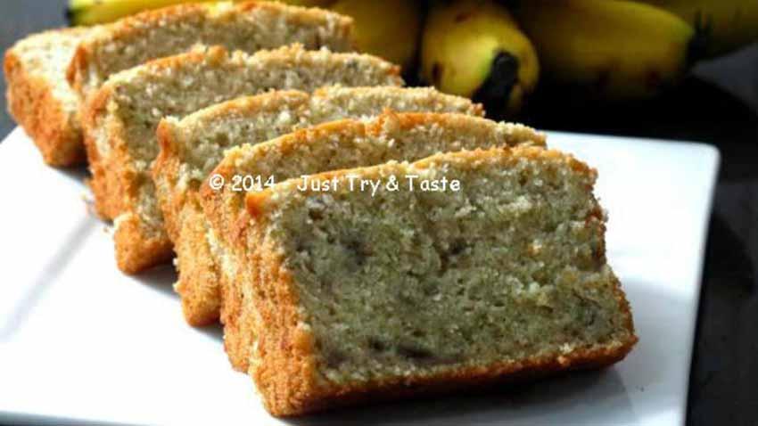 Hanya Dengan 5 Bahan Saja Bisa Bikin Cake Pisang Ini Hasilnya Super Very, Very, Very Delicious!
