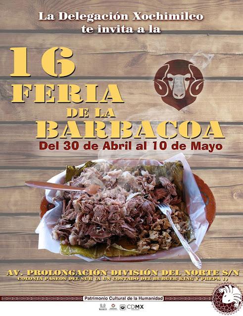feria de la barbacoa xochimilco 2016