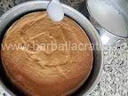 Budinca de gris preparare reteta - imbibam treptat cu laptele aromat
