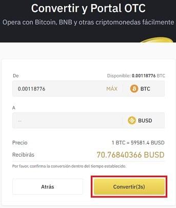Cómo Comprar COINBASE STOCK TOKEN (COIN) Binance con BUSD Coin