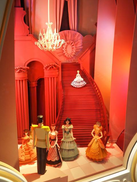 Cinderella paper model inside the Castle, Tokyo Disneyland, Japan