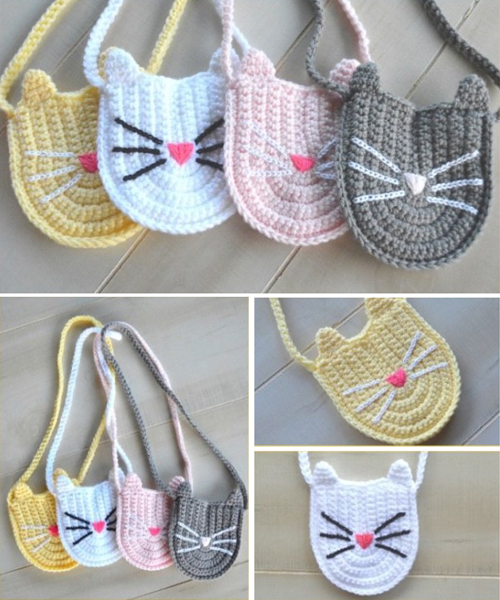 Bitty Kitty Bag - Free Pattern