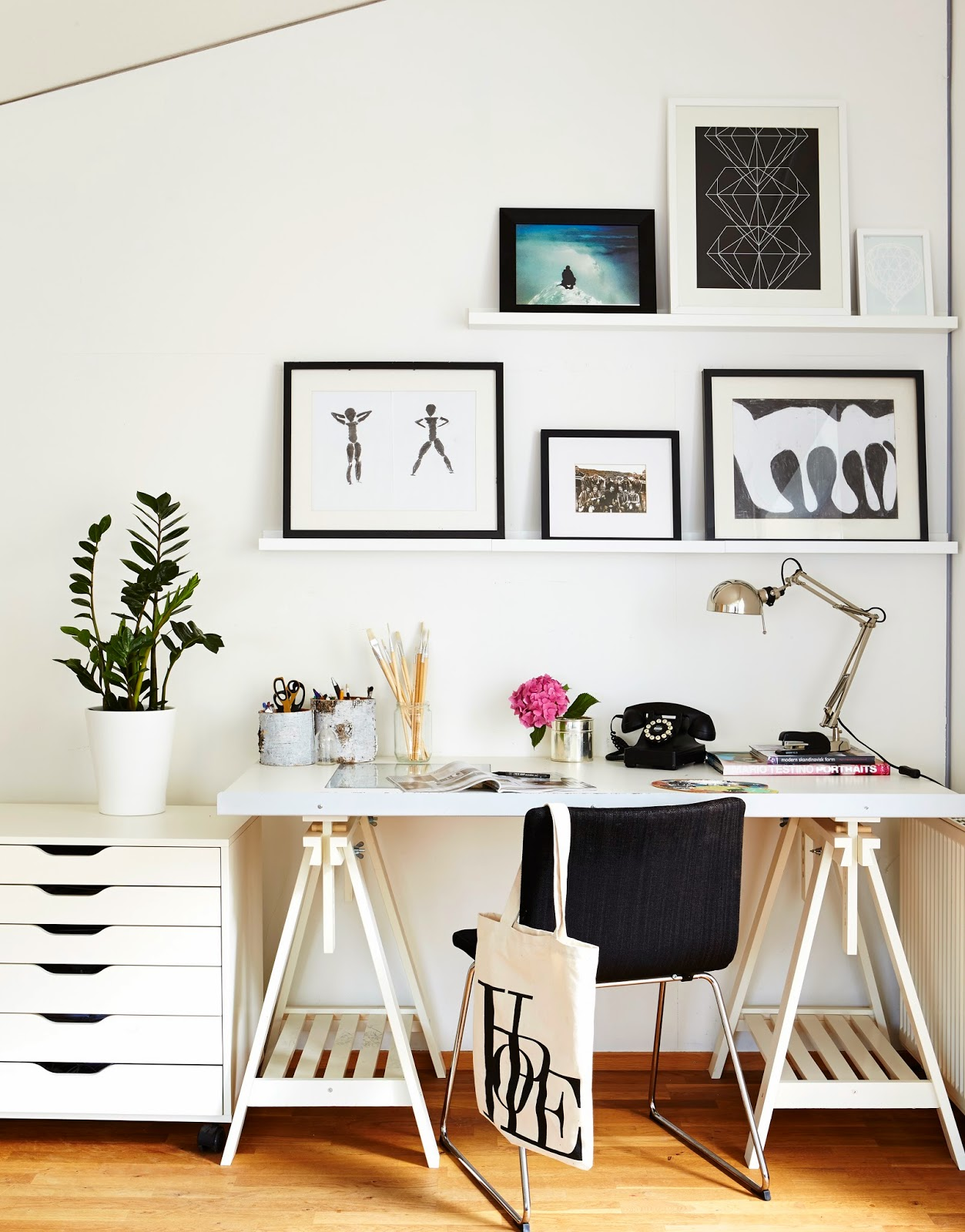 Scandinavian Study Room: My Scandinavian Home: Design Bloggers At Home