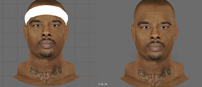 NBA 2K13 Quentin Richardson NBA2K Face Mod