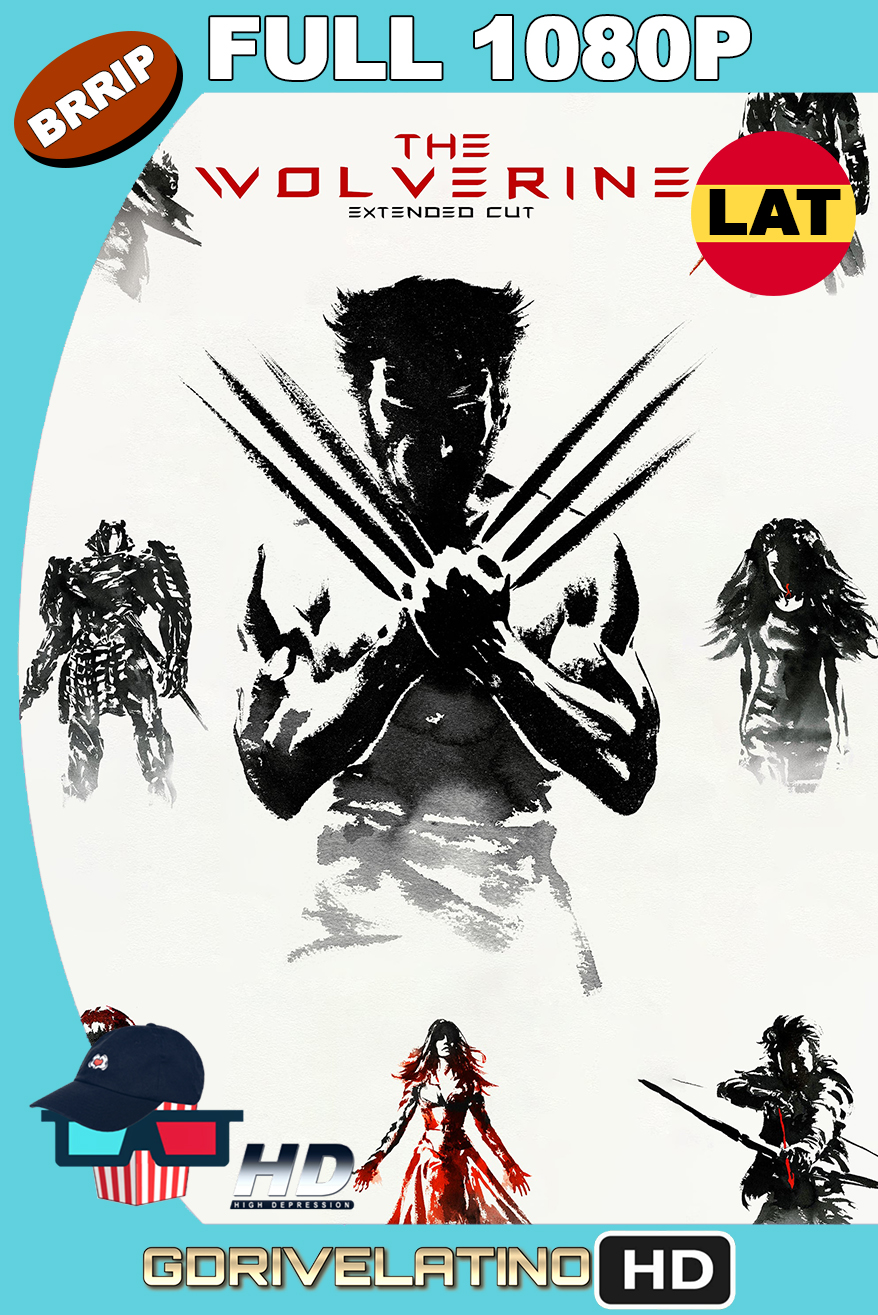 The Wolverine (2013) EXTENDED CUT BRRip 1080p Latino-Ingles MKV