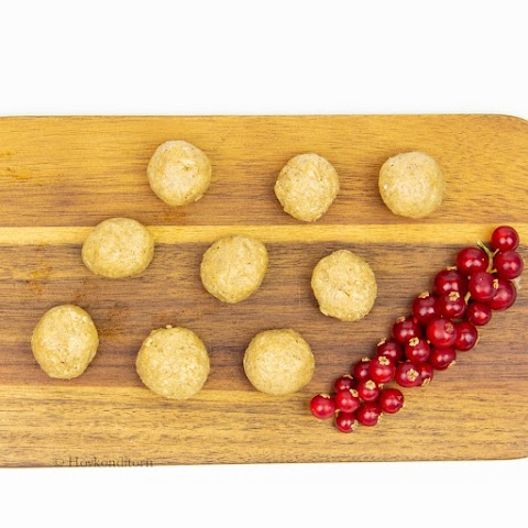 Vanilla Oat Protein Balls