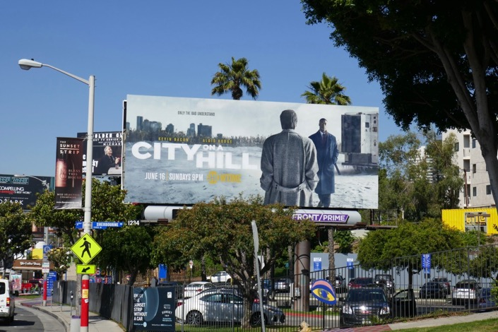 City on a Hill Showtime billboard