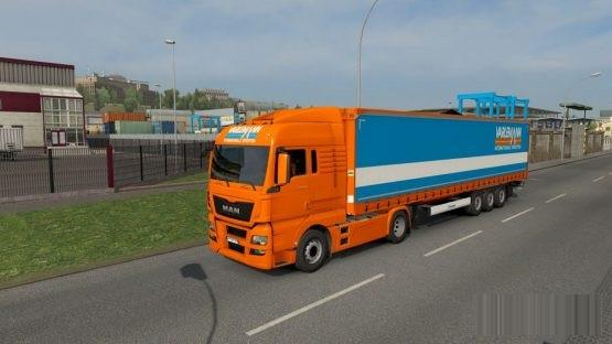 Varlemann Combo skin Krone MAN TGX ETS2