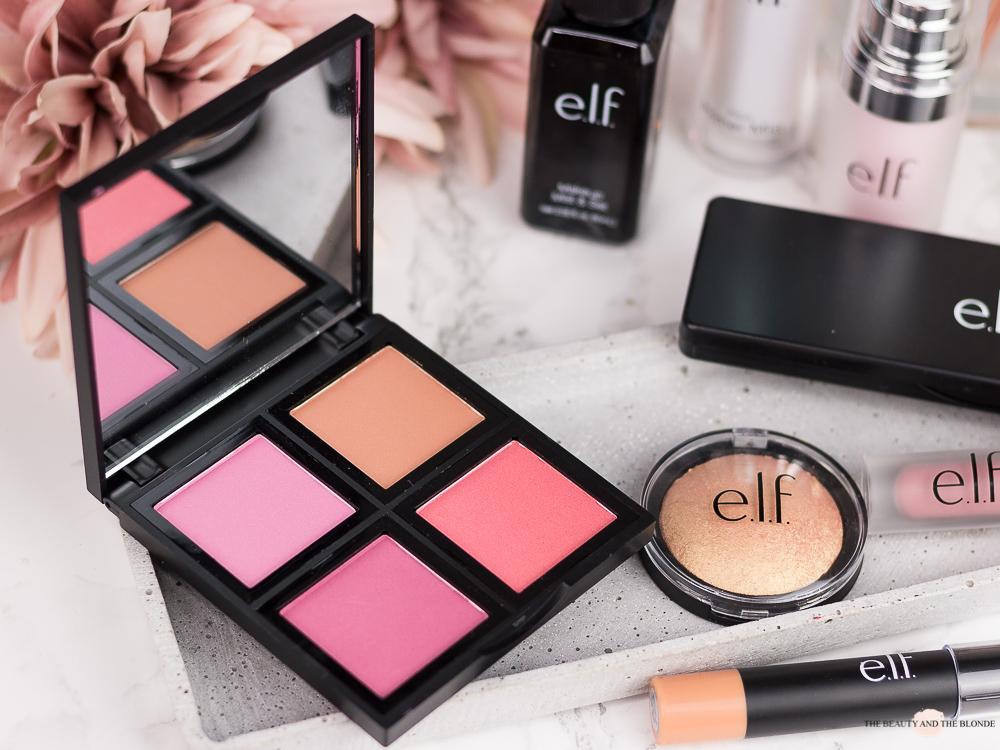 e.l.f. Cosmetics Blush Palette Light Review
