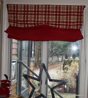 reupholster old kitchen chairs DIY window treatment