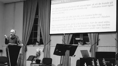 tisdag 29 januari 2019 kl 18, Berno Vidén: Gud är gemenskap, del 3
