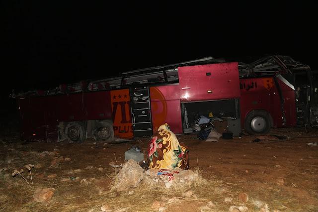 پاسێکی گەشتیاری سلێمانی لە باکووری کوردستان وەرگەڕا ٣٠ قوربانی لێکەوتەوە