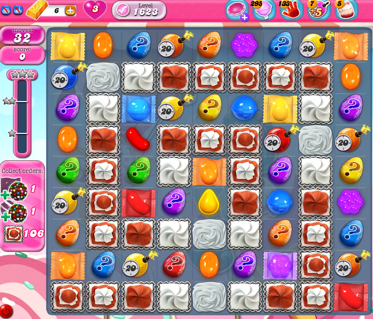 Candy Crush Saga 1623