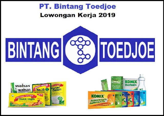 Lowongan Kerja PT Bintang Toedjoe Lulusan SMK, Diploma Dan Sarjana Dengan Posisi Engineering Technician (Utility / Maintenance), ETC Bulan Oktober 2019