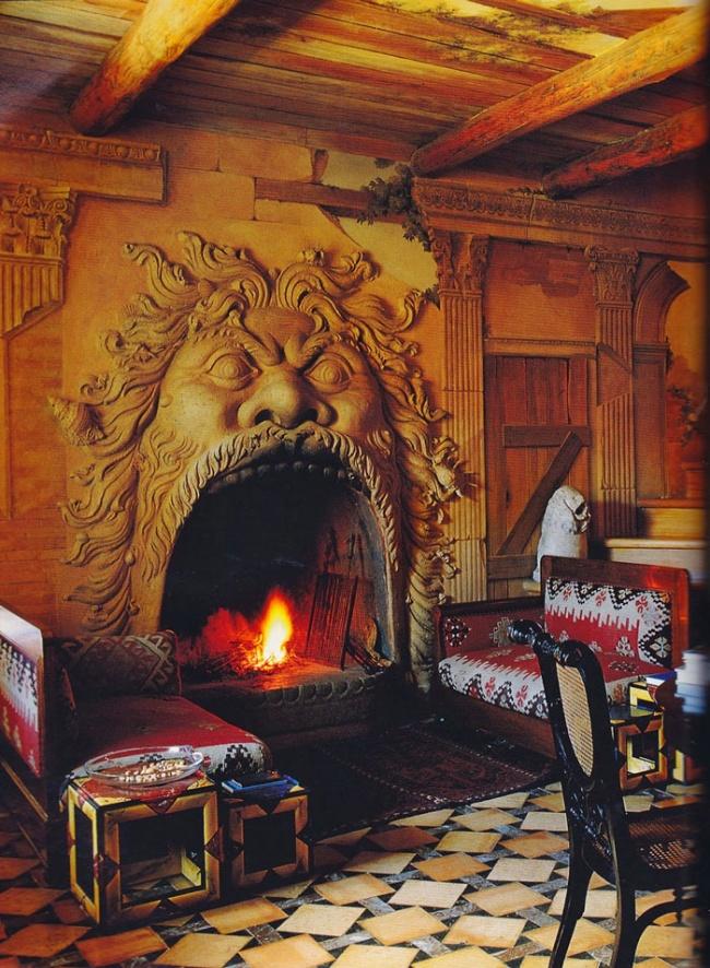 20 Cozy Home Interior Design Ideas: Home, 20 Awesome Fireplaces For A Cozy Evening