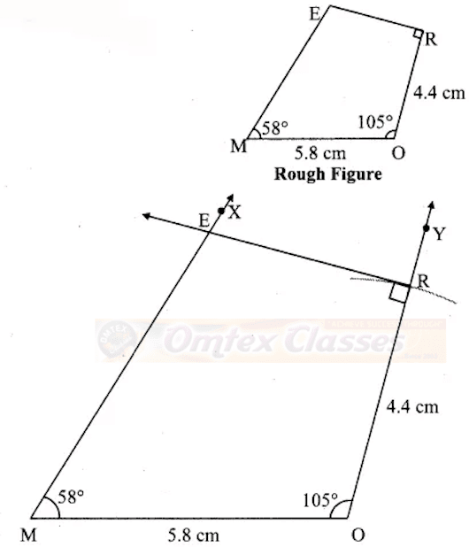 Chapter 8: Quadrilateral : Constructions and Types.