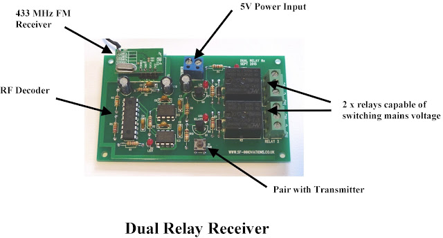 Remote Controlled Dual Relays using FM Radio Mo    | element14