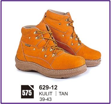 Sepatu Boots Pria 629-12 Azzura 738a506d0a