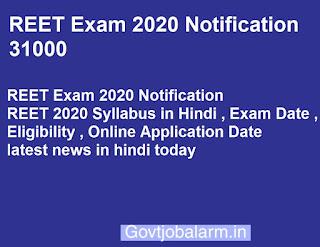 REET Exam 2020