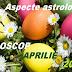 Aspecte astrologice în horoscopul aprilie 2017